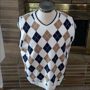 Men's Tommy Hilfiger Sweater Vest Size Large